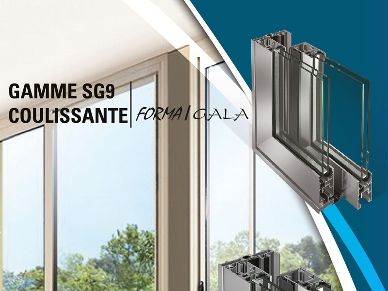 Gamme SG9 Coulissante
